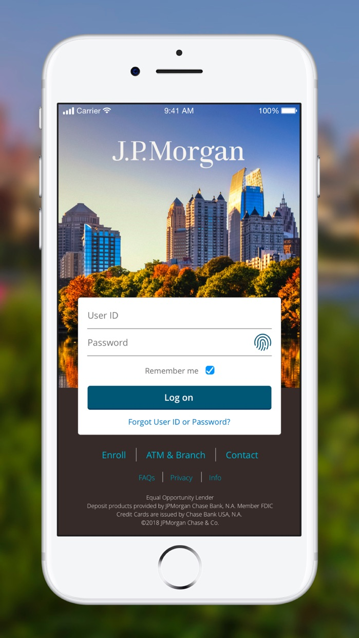 J.P. Morgan Mobile® Screenshot