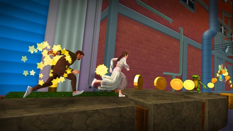 Virtual Girlfriend Wedding Run screenshot-3