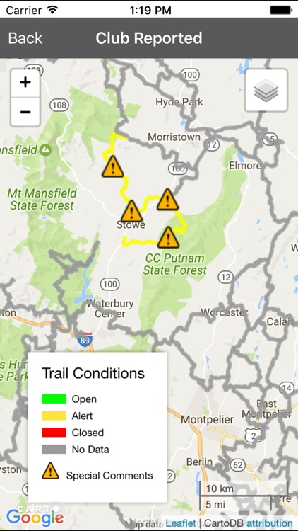 Vermont Snowmobile Trails screenshot-3
