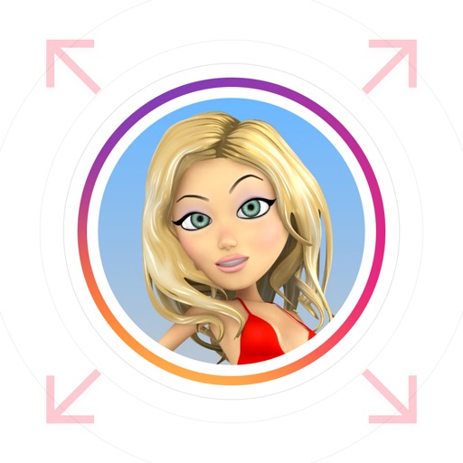 PicZoom - Profile Pictures Zoomer for Instagram application logo