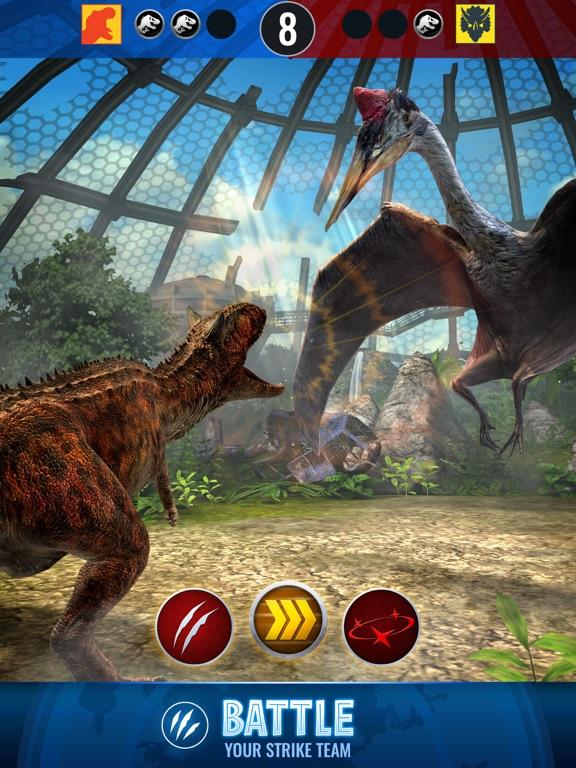 Jurassic World™ Alive-ipad-2