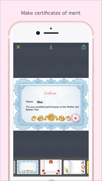Certificate Maker Pro - Create You Own Certificate
