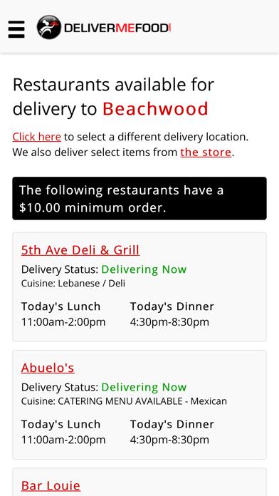 DeliverMeFood!Screenshot of 4