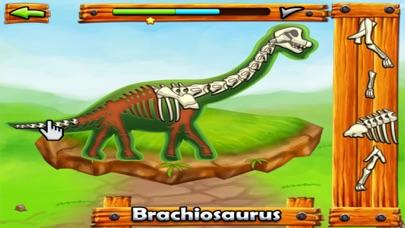 恐龙化石拼图 - 恐龙世界益智闯关游戏