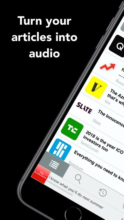 Text to Speech News - Motoread screenshot-0