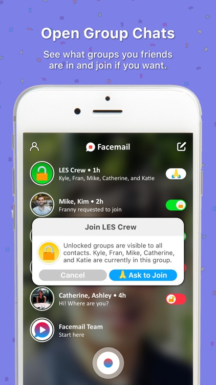 Facemail - Group Video Message