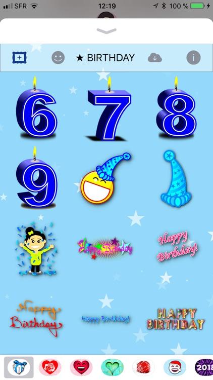 Happy Birthday! • Stickers screenshot-4
