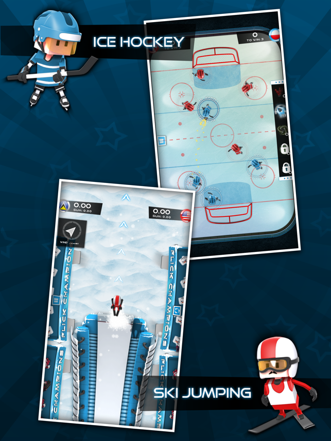 Flick Champions Winter Sports Screenshot
