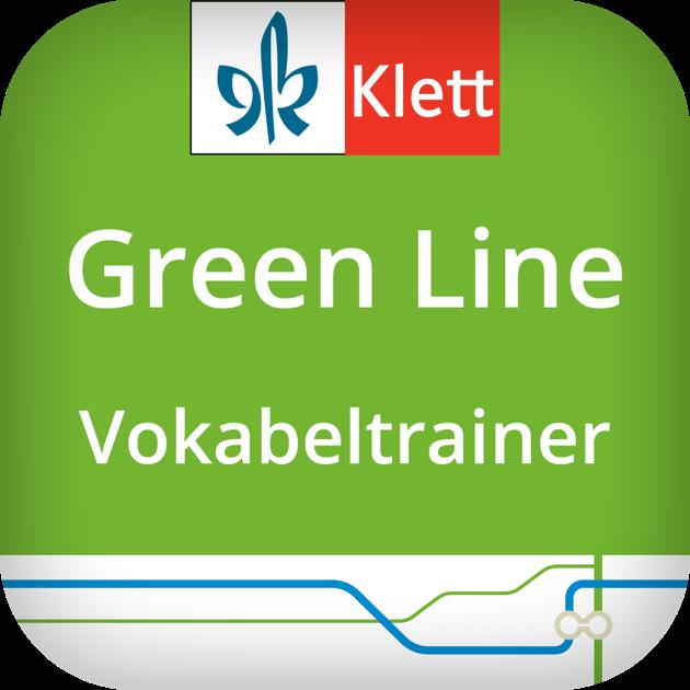 green line vokabeltrainer on the app store. Black Bedroom Furniture Sets. Home Design Ideas
