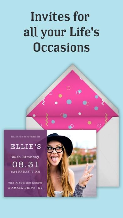 invitation maker flyer creator appgraphy アップグラフィー