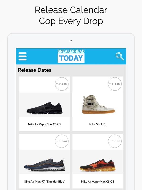 Sneaker Riot - Release Dates   App Price Drops