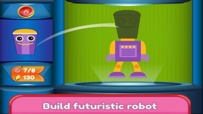Kids Robot Game - Build & Jump screenshot four