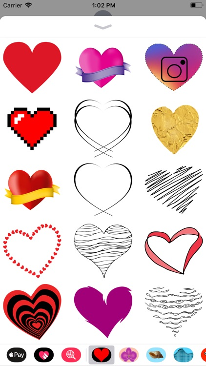 Only Heart Stickers screenshot-4