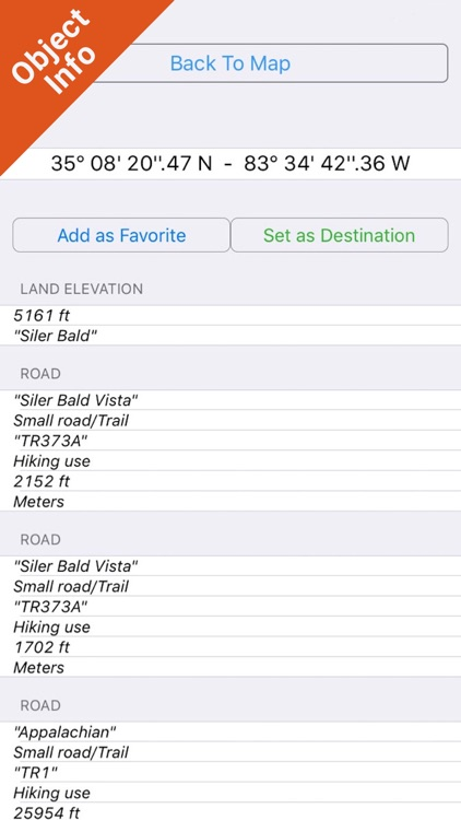 Nantahala National Forest - GPS Map Navigator screenshot-2