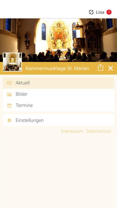 Kammermusiktage St. Marien screenshot 2