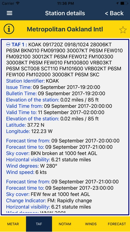 NOAA AWC Aviation Weather PRO screenshot-2