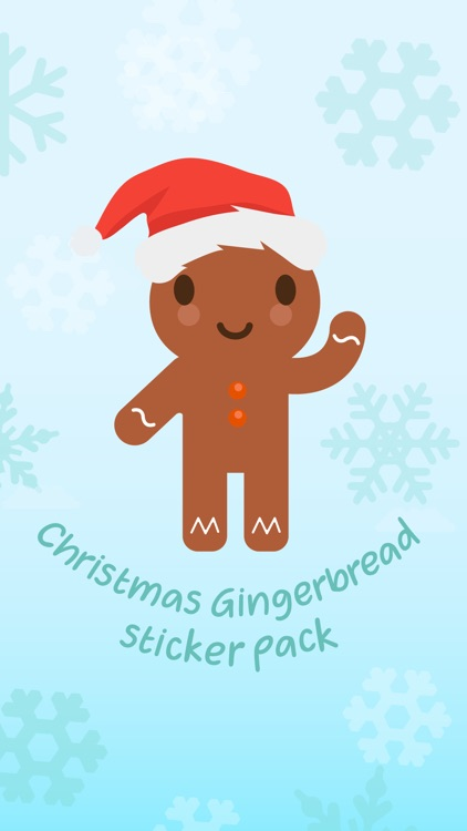 Christmas Gingerbread Stickers