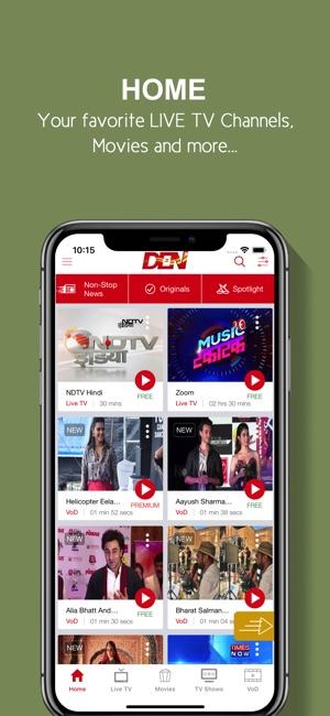 DEN TV+ on the App Store