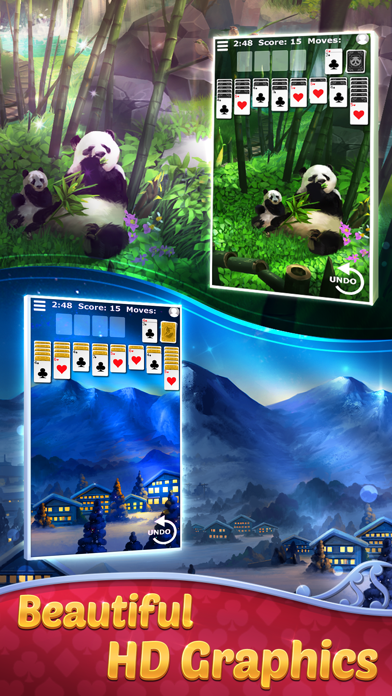 FreeCell Solitaire with Themes screenshot 2