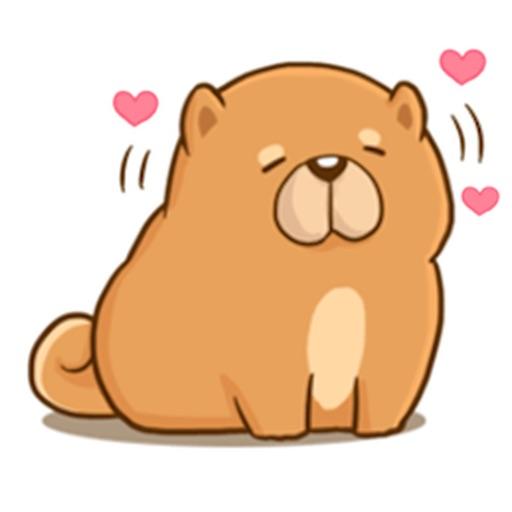 Chow Chow Dog Emoji Sticker By Quang Tran Vinh