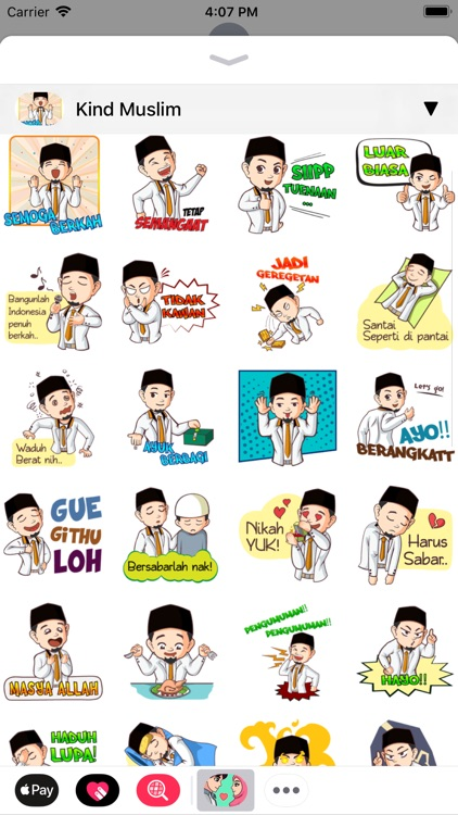 Muslim Stickers App screenshot-5
