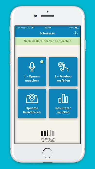 Schnëssen screenshot one