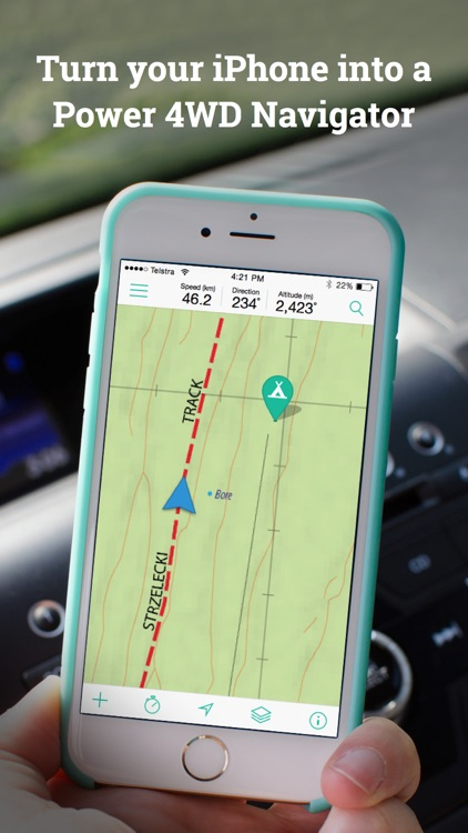 Mud Map 3 4WD GPS Navigation screenshot-0