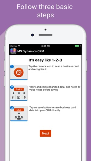 Card reader 4 ms dynamics crm on the app store iphone ipad reheart Choice Image