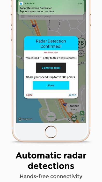Copdrop - GPS & Live Radar Map screenshot-4
