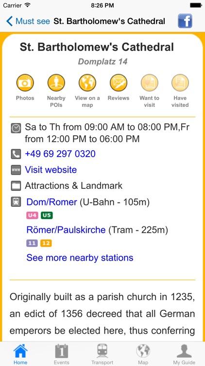 Frankfurt am Main Travel Guide Offline screenshot-4