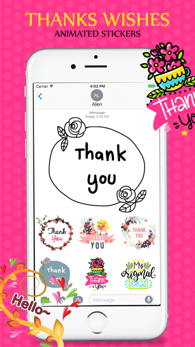 Animated Wishes Stickers Pack screenshot two