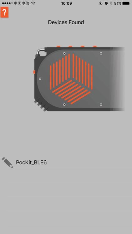 PocKit Interface Panel