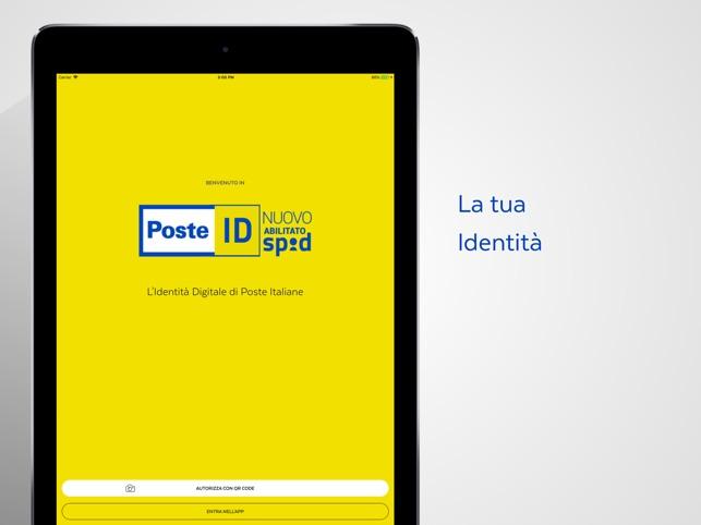 app spid poste italiane