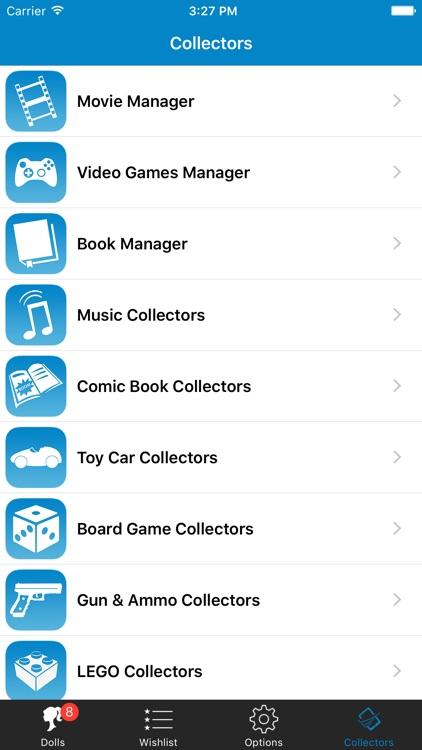Doll Collector List Database screenshot-4