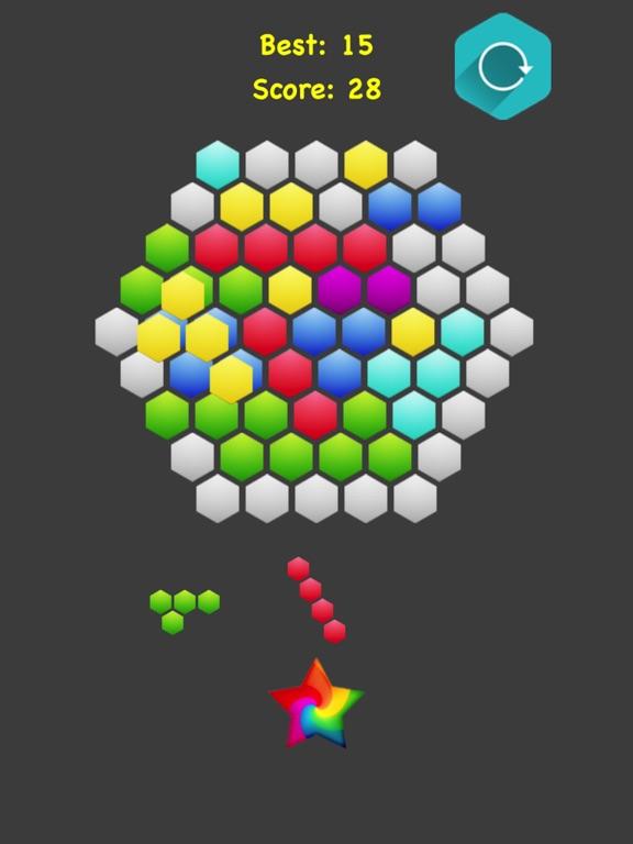 Hexagonal Merge. screenshot 10
