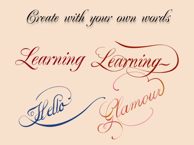Calligraphy Penmanship on the App Store