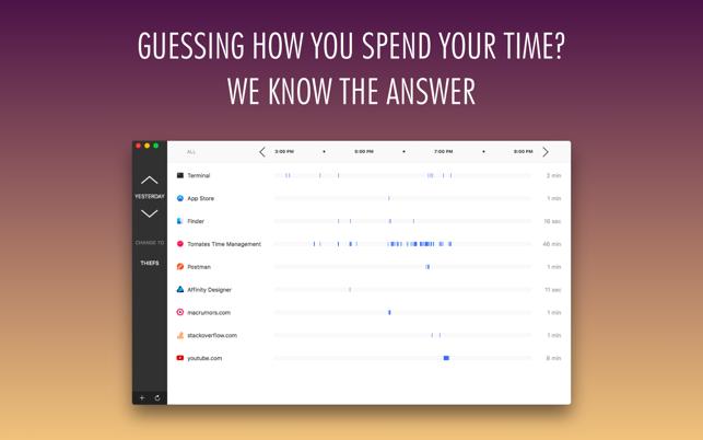 Tomates - Time Management Screenshot