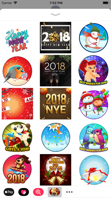 New Eve Stickers 2018 screenshot two