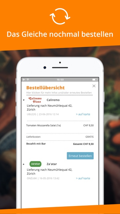 Takeaway.com - Schweiz for Windows