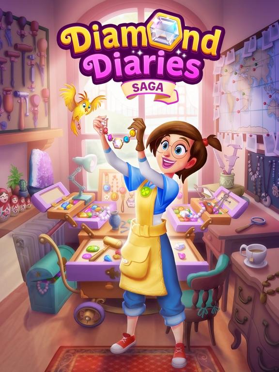 Игра Diamond Diaries Saga