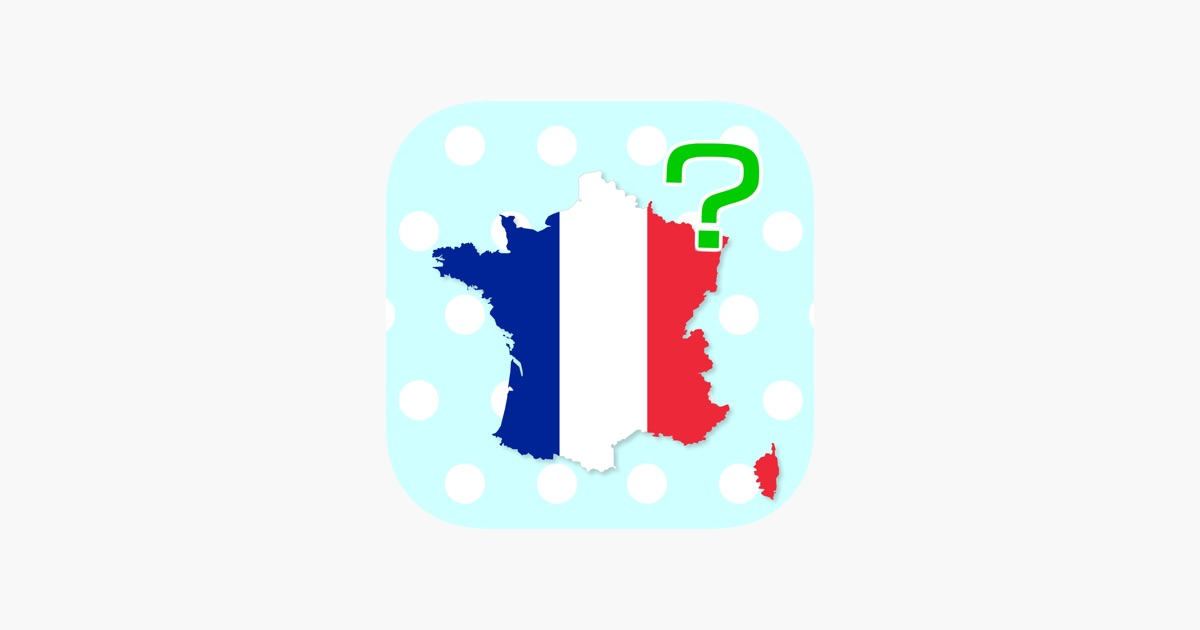 France Map Quiz.France Regions Departments Map Quiz On The App Store