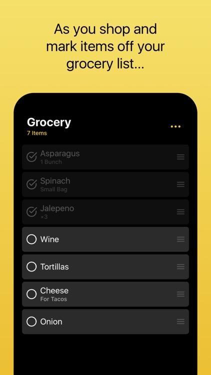 Grocery - Smart Grocery List