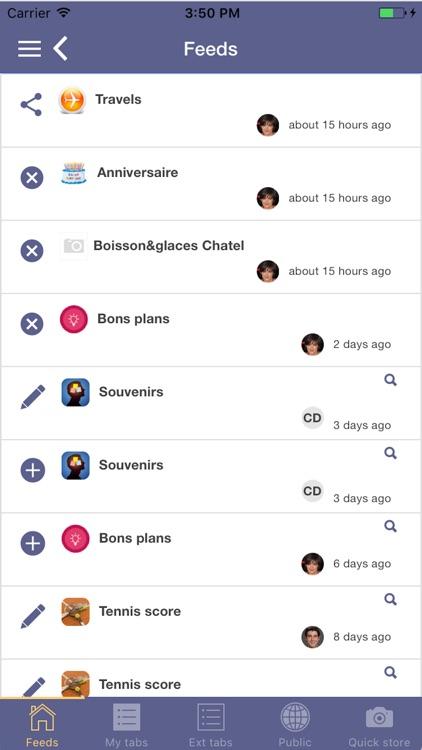 myTabs - database screenshot-4