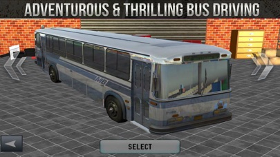 Offroad Bus Driving Skill screenshot one
