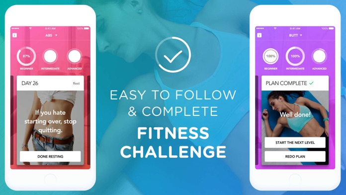 30 Day Squat And Ab Challenge Screenshot