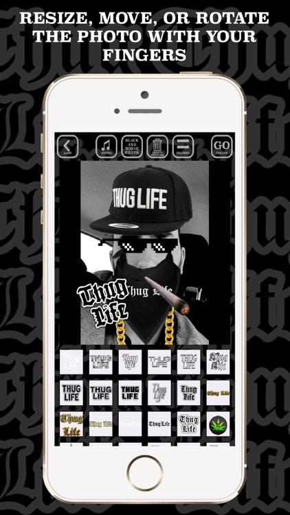 Thug Life video maker music screenshot-3