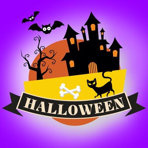 Sticker Halloween banner