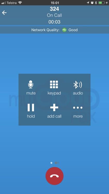 myCloudPBX Softphone screenshot-3