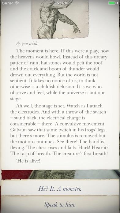 Frankenstein review screenshots