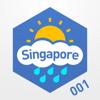 Singapore Rain Map